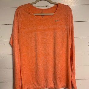 Womens Nike dry fit long sleeve